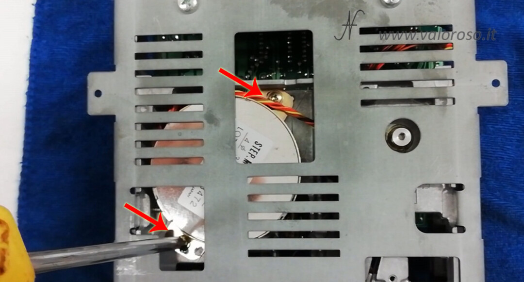 1541 Diagnostic Cartridge by Jani drive alignment rotate stepper motor stepper alignment