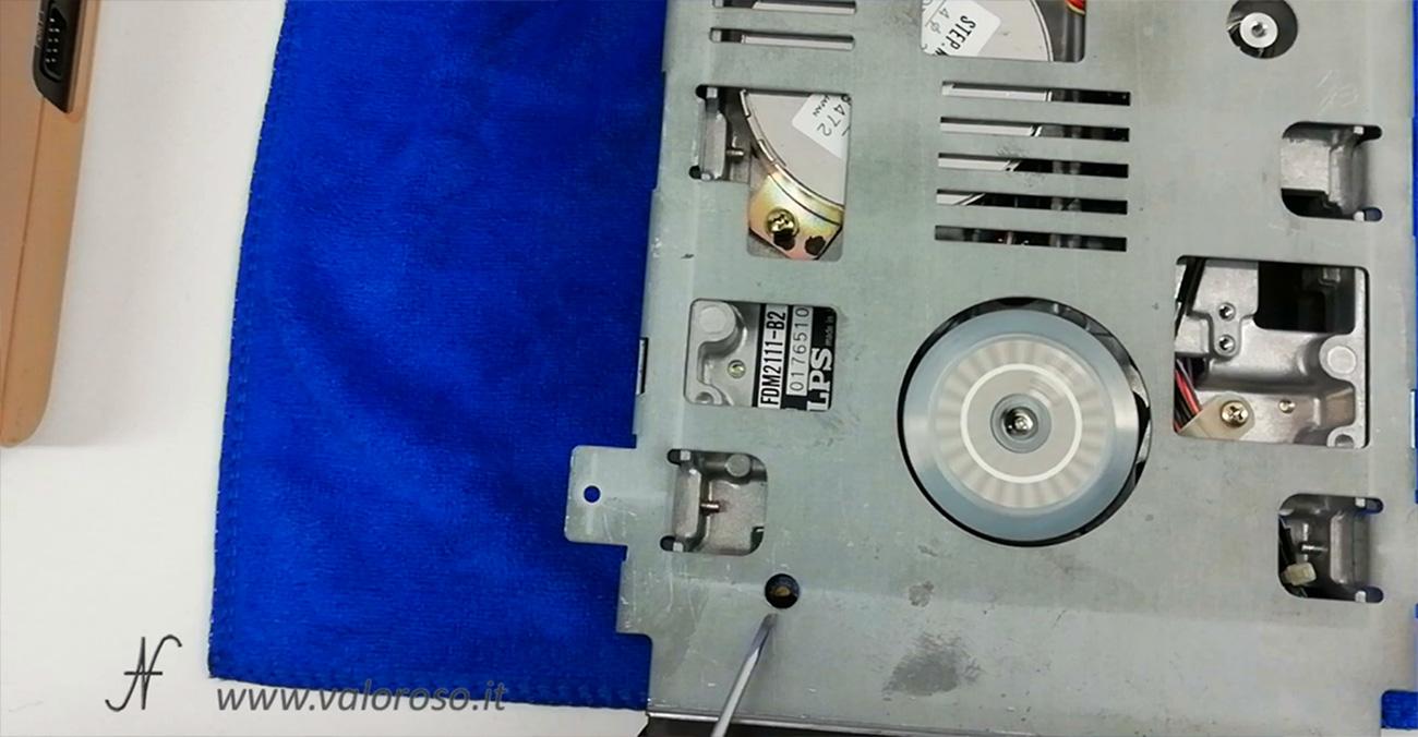 1541 Speed Test by Zibri, RPM, trimmer di regolazione velocita di rotazione floppy disk drive Commodore 1541