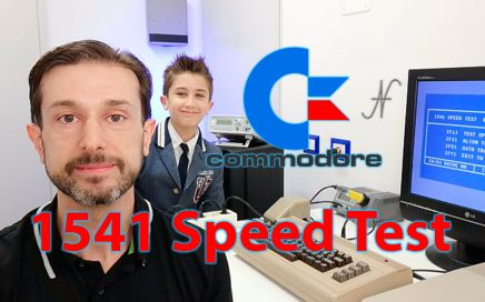 1541 Speed Test by Zibri, misurare velocita-rotazione floppy disc drive Commodore 1541, RPM