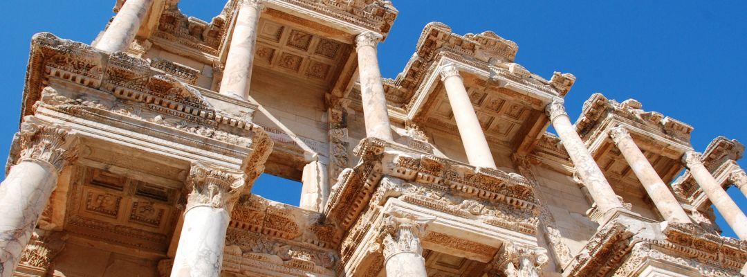 2017, Amedeo Valoroso, Ephesus, Turkey, Efeso, Turchia, Library, Biblioteca
