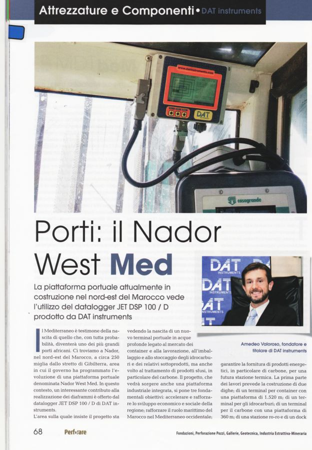 2018, Amedeo Valoroso, intervista rivista Perforare, n1