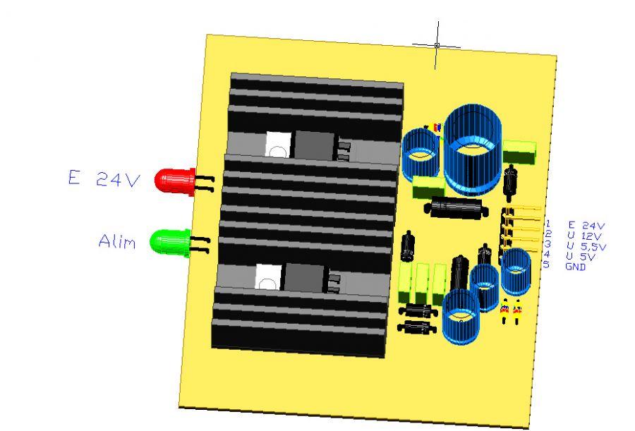 3CTRALIM, by Amedeo Valoroso, sistema di controllo per sollevatori per gallerie, alimentatore con filtro