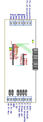 3CTRRSX, drawing by Amedeo Valoroso, scheda madre,sistema di controllo per sollevatori per gallerie