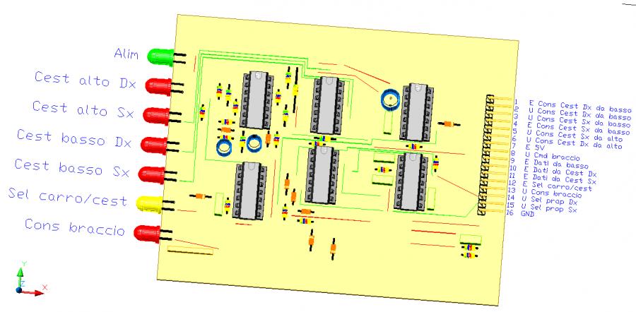 3CTRSEL, by Amedeo Valoroso, selettore dei comandi, sistema di controllo per sollevatori per gallerie,