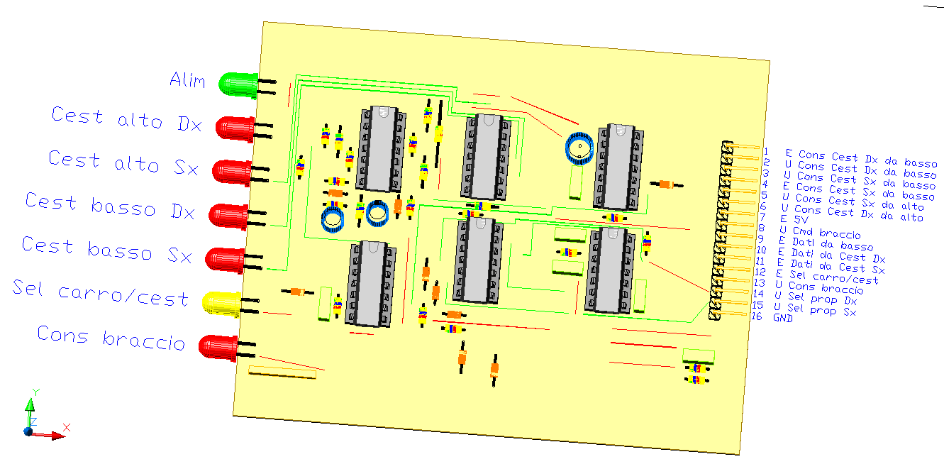3CTRSEL, by Amedeo Valoroso, command selector, electronic control system for tunnelling lifting equipment