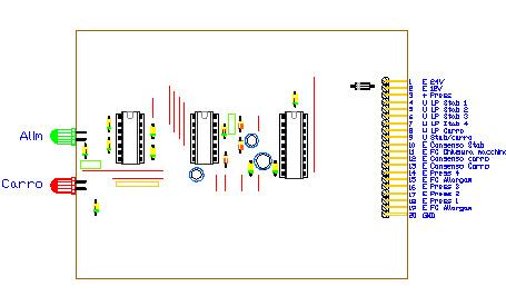 3CTRSTAB, drawing by Amedeo Valoroso, controllore stabilizzazione attrezzatura di sollevamento