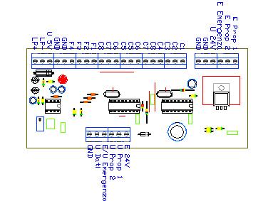 3CTRTX1, drawing by Amedeo Valoroso, trasmettitore dei comandi, sistema di controllo per sollevatori per gallerie
