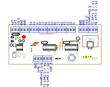 3CTRTX2, drawing by Amedeo Valoroso, trasmettitore dei comandi, sistema di controllo per sollevatori per gallerie