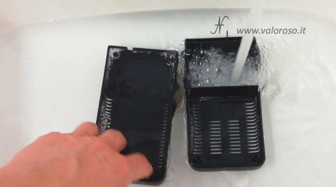 Atari 800XL 5V PSU power supply wash case shell water degreaser