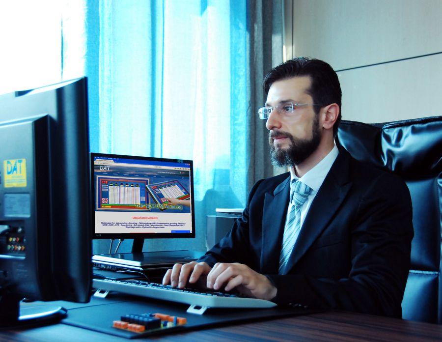 Amedeo Valoroso, computer