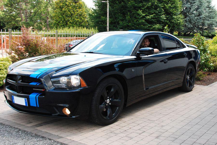 Amedeo Valoroso, Dodge Charger, 2013, SXT Plus Blacktop Edition, automobile, macchina, autovettura, muscle car