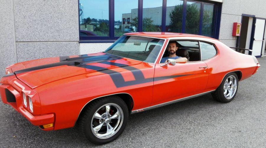 Amedeo Valoroso, Pontiac LeMans, 1970, Pontiac GTO, automobile vintage, macchina d'epoca, autovettura di interesse storico e collezionistico, muscle car