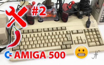 Amiga 500 riparazione e prova, la storia infinita 2