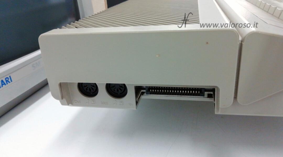 Atari 1040 ST Atari ST Atari1040STF MIDI Ports in Out DIN 5 Expansion Expansion