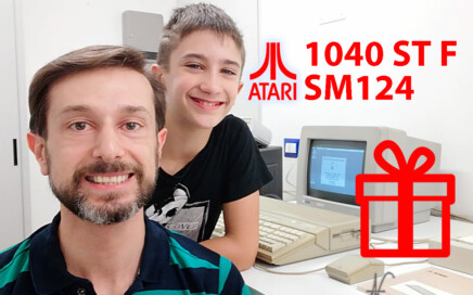 Atari 1040 ST F Atari ST Atari 1040ST Atari SM125 monitor retro computer mouse in regalo