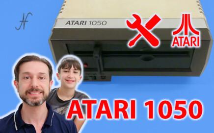 Atari 1050 floppy disk drive, riparazione alimentatore trasformatore