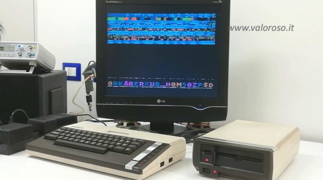 Atari 800XL Atari 1050 boot gioco difettoso crash errore problema avvio