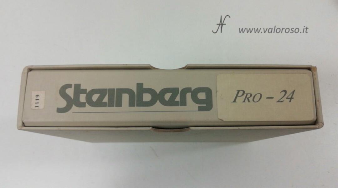 Atari ST software Steinberg PRO-24 PRO24 MIDI recorder music binder