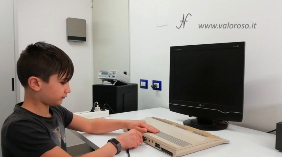 Cavo S-Video per migliorare la qualità delle immagini del Commodore 16, 64 e 128 sulle TV LCD, collegamento connettore Leonardo Valoroso Leo