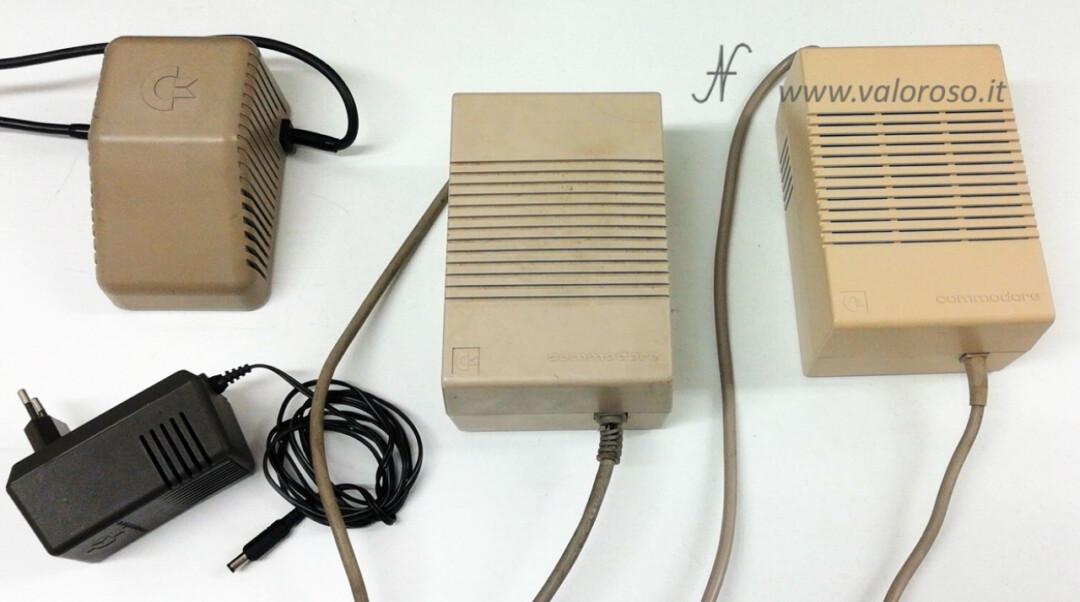 Come riaccendere il Commodore dopo tanti anni, alimentatore connettore alimentazione condensatori prova tensioni, scarpone, biscottone, 64, 128, 16, Amiga, C16, C64, C128