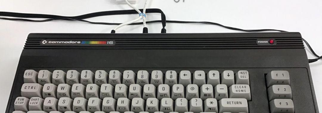 Commodore 16, installazione emulatore SD2IEC con microSD, cavo adattatore tape