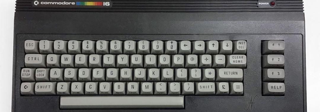 Commodore 16, retrocomputer, C16, CBM, Commodore Business Machines Inc.