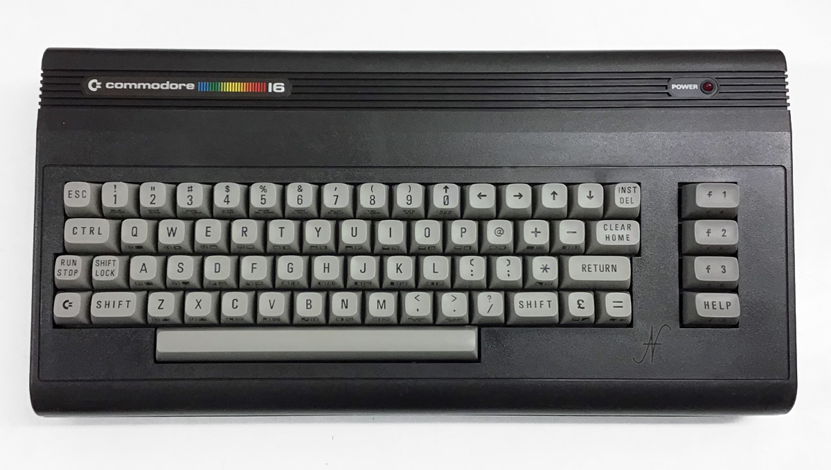 Commodore 16, CBM, retrocomputer originale, retrotecnologia