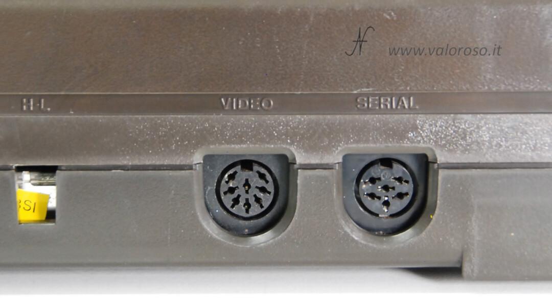 Commodore 16 uscita connettore DIN8 DIN 8 poli compatibile S-Video SVideo, migliorare qualita immagini