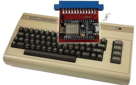 Commodore 64, modem wifi, bbs, internet, nodemcu