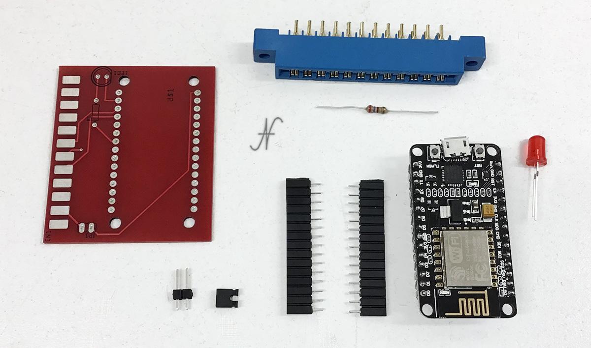 Commodore 64, modem wifi, nodemcu, bbs internet, kit di montaggio, da assemblare