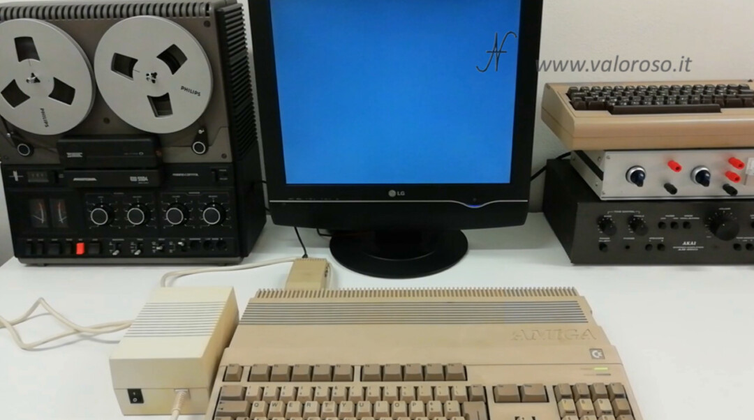 Commodore Amiga 500 schermo nero guasto non funziona
