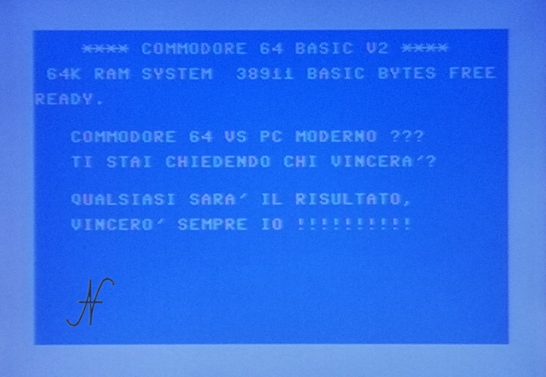 Confronto Commodore 64 con PC moderno, chi vince?
