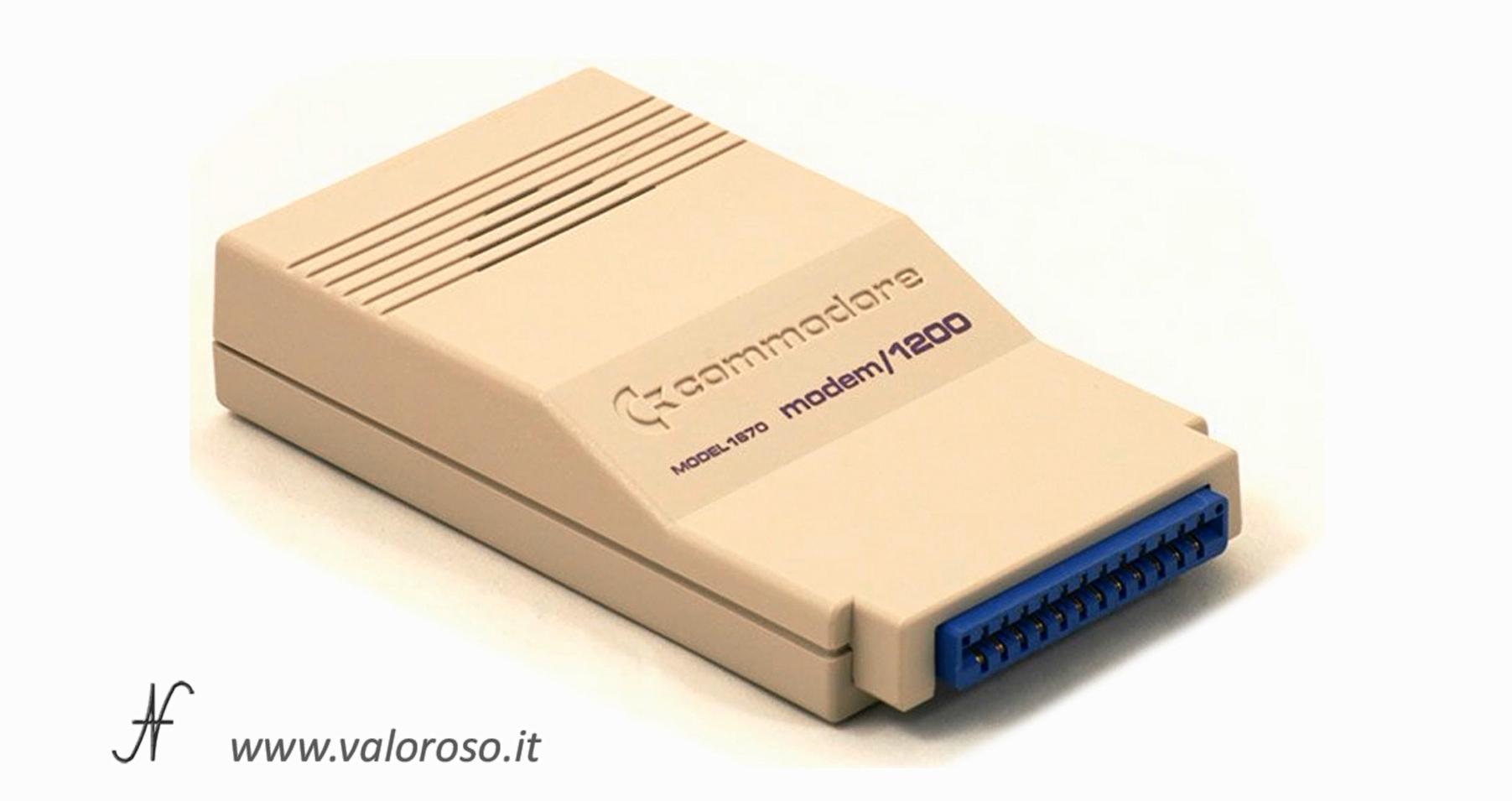 Modem Commodore 1670, 1200 baud