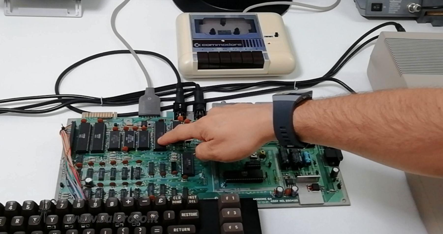 Commodore 64 Vs PC moderno, processore MOS 6510, CPU