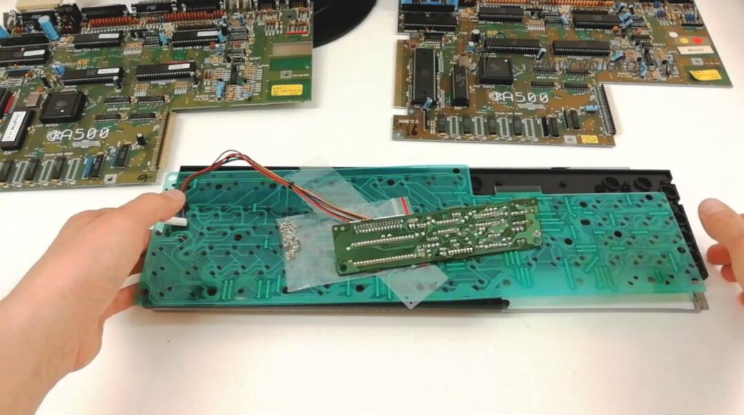 Keyboard Components Commodore Amiga 500 A619B Membrane PCB Circuit Buttons, PCB Boards