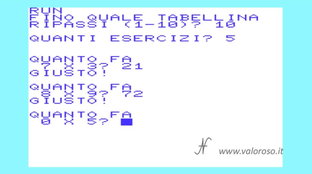 Commodore, rpiassare studiare le tabelline esercizi, 16 64 128 C64 C16 Vic20 Vic-20 C128 Plus4, PRG D64