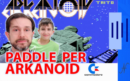 Costruire un Paddle per Arkanoid, Commodore 64, BASIC PEEK POKE joystick control port