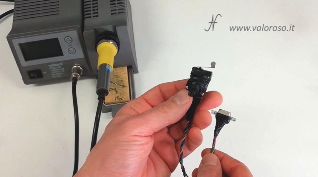 Costruire un Paddle per Arkanoid, Commodore 64, assemblare giocare potenziometro pulsante, autocostruito DIY, fai da te