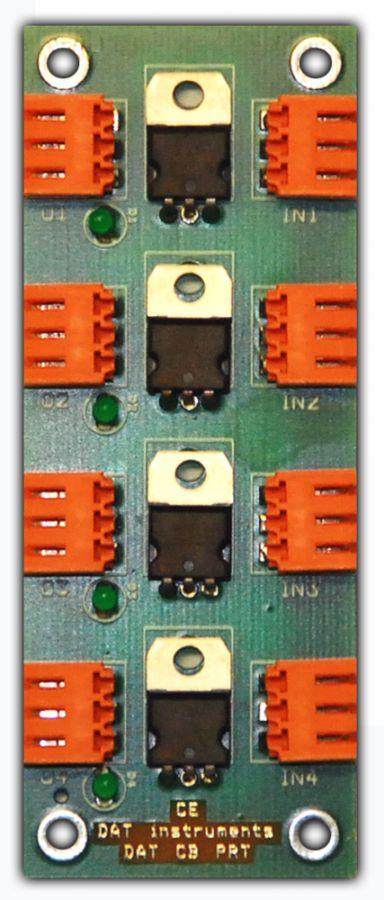 DAT CB PRT, DAT instruments, 20mA current limiter, transducer protection, by Amedeo Valoroso