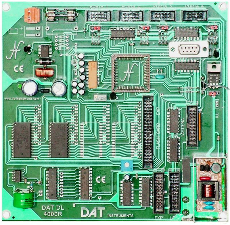 DAT DL 4000R, scheda madre datalogger JET 4000 AME