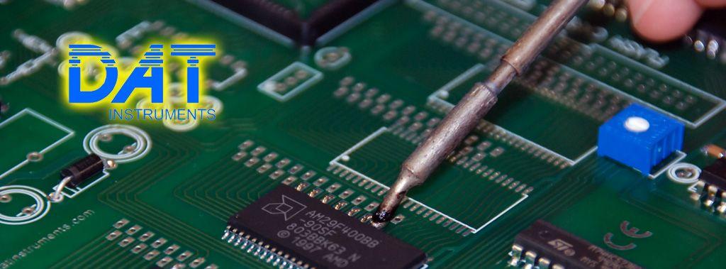 DAT instruments, data logger production, electronic board, Amedeo Valoroso