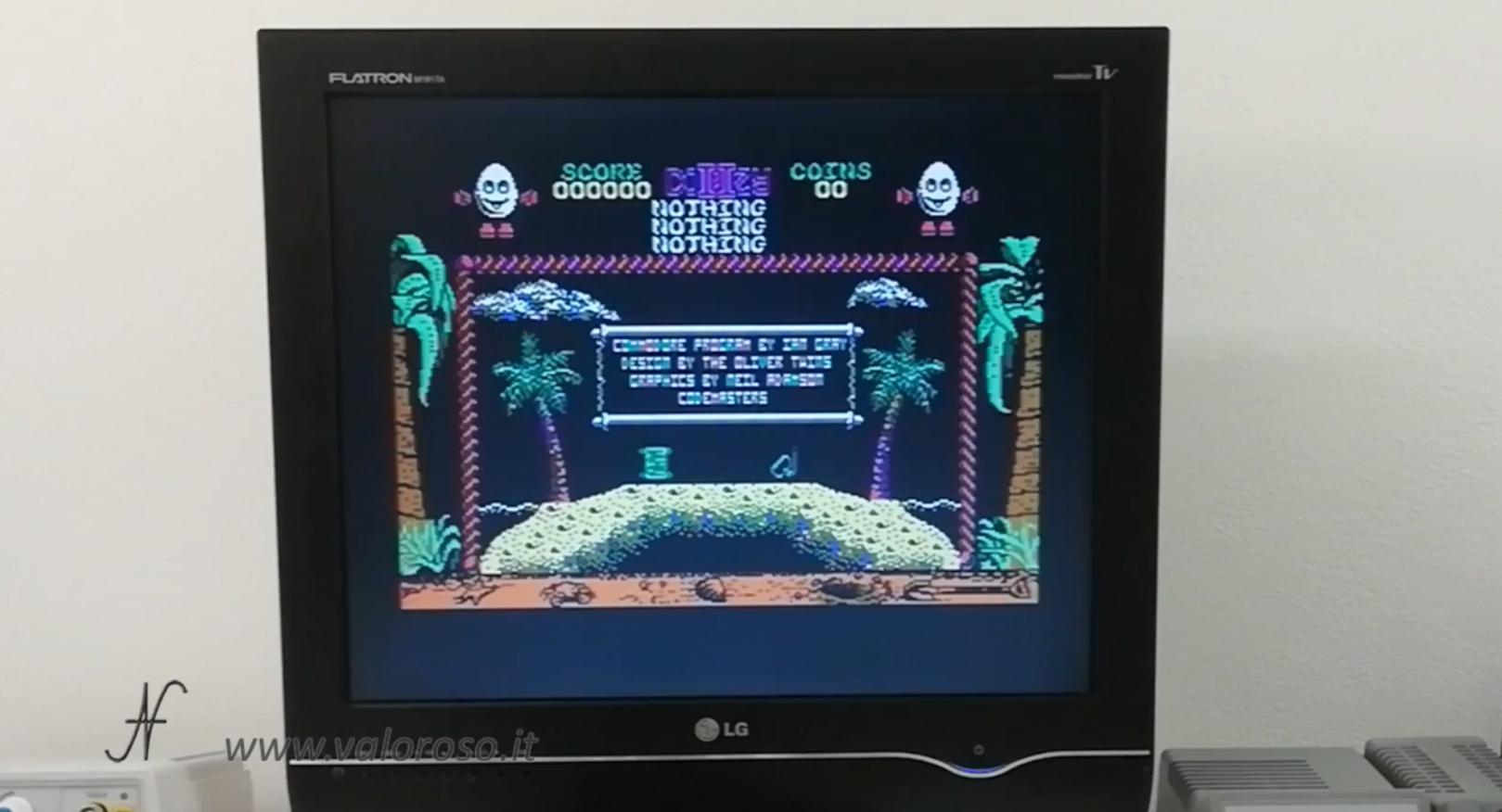 Datel Action Replay, Commodore 64, dizzy salvataggio gioco, copia videogioco
