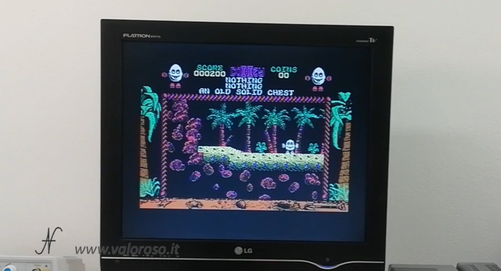 Datel Action Replay, Commodore 64, dizzy salvataggio livello gioco, congelamento memoria