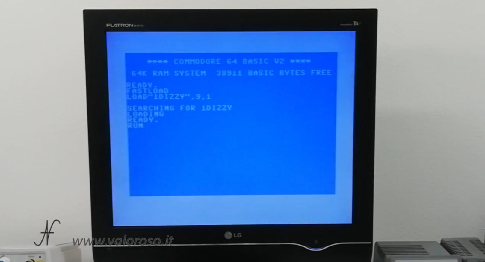 Datel Action Replay, Commodore 64, disk load SD, caricamento videogioco da SD, SD2IEC, fastload