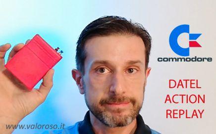 Datel Action Replay, Commodore 64, www.valoroso.it, utilizzo cartuccia passo passo, copia videogioco, tutorial, duplicazione videogioco da cassetta a SD floppy