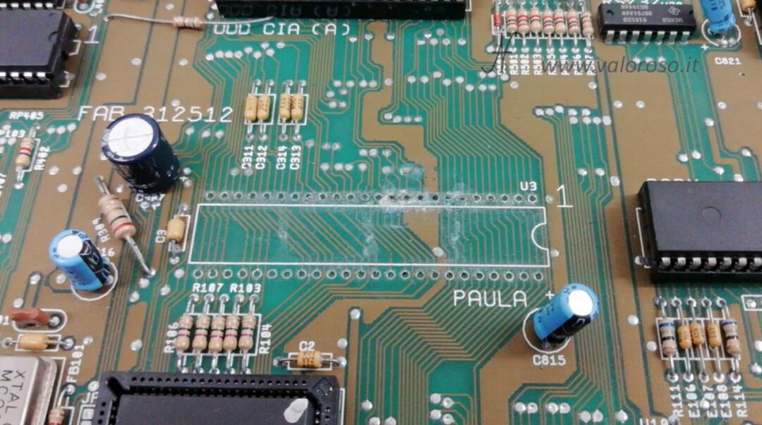 Dissaldare rimuovere togliere zoccolo integrato chip leva plastica dal PCB circuito stampato pulire ossido