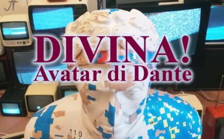 Divina!, Dante Alighieri Divina Commedia, Avatar di Dante, Retro Printer Commodore 64 telescrivente