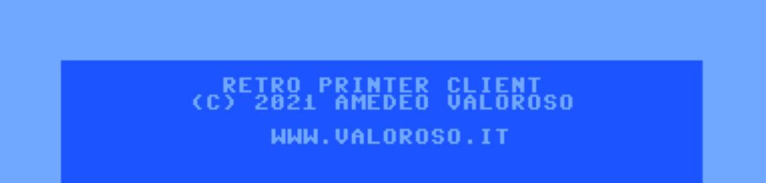 Divina, ValorosoIT Retro Printer Client cavo USB seriale PC Commodore 64 user port, Basic v2