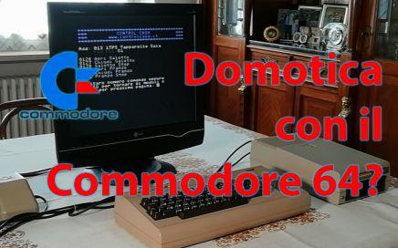 Domotica con il Commodore 64, Control Casa, controllo carichi, comando luci, controllo tapparelle, prese
