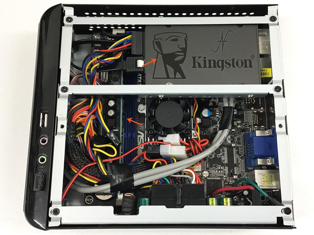 Installare Windows 10 su vecchi computer, 5 anni, 10 anni, 15 anni, 20 anni, SSD solid state disk, aumentare RAM, Intel Core 2 Duo